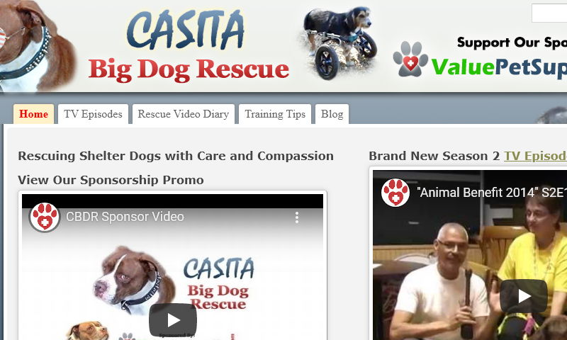 casitabigdogrescue.com