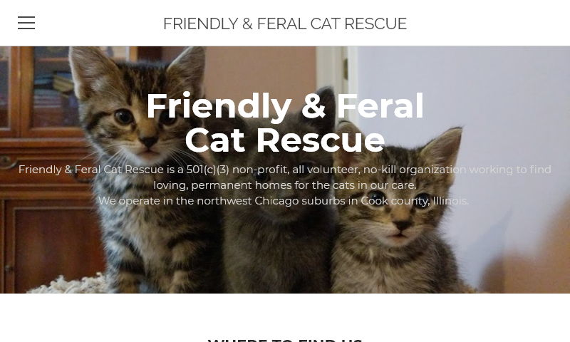 friendlyandferalcatrescue.com