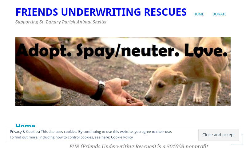 friendsunderwritingrescues.org