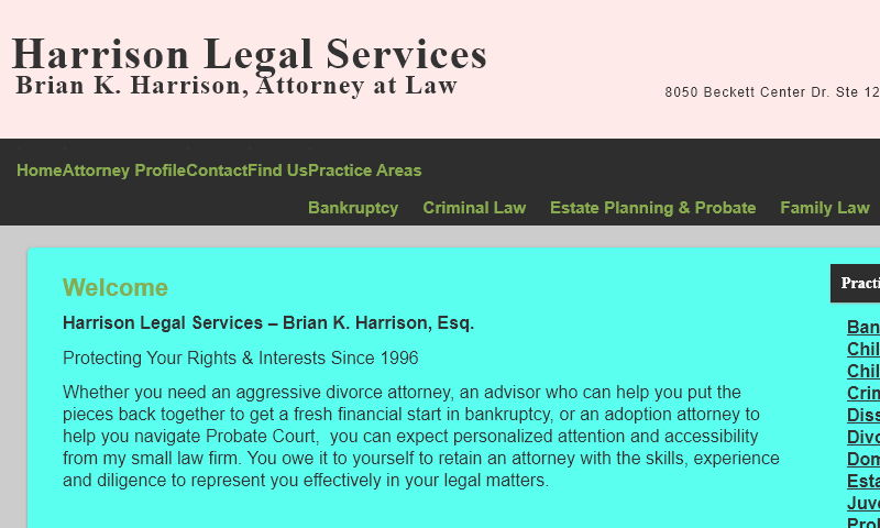 harrisonlegalservices.biz