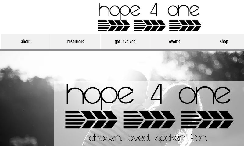 hope4oneministries.org