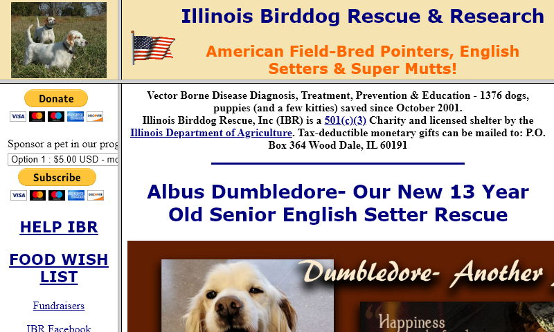 illinoisbirddogrescue.org