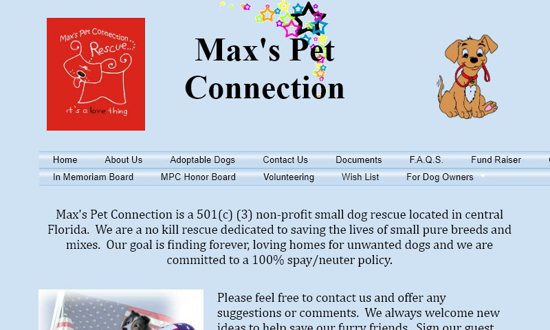 www.maxspetconnection.com