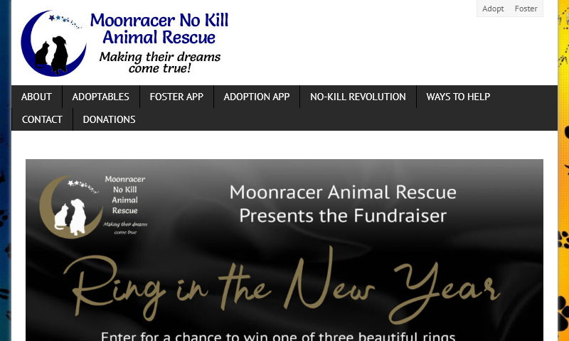 moonraceranimalrescue.com