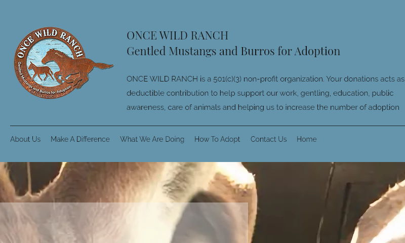oncewildranch.org