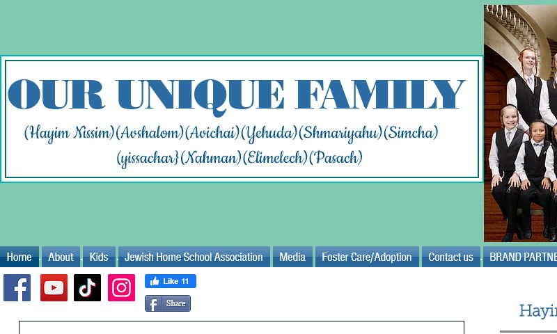 ouruniquefamily.org