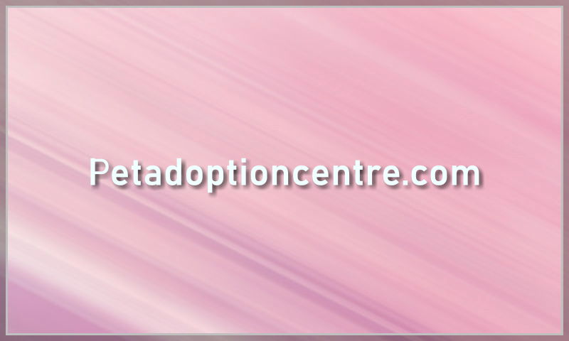 petadoptioncentre.com
