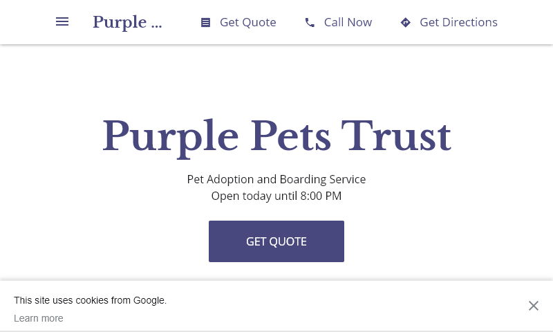 purplepetstrust.com