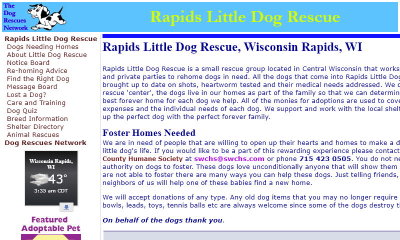 rapidslittledogrescue.com