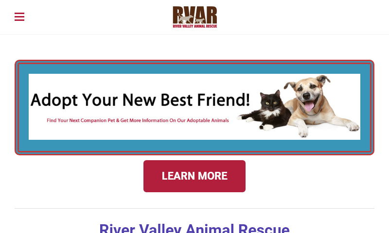 rivervalleyanimalrescue.org