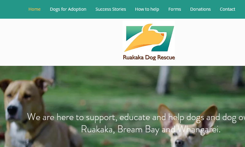 ruakakadogrescue.com