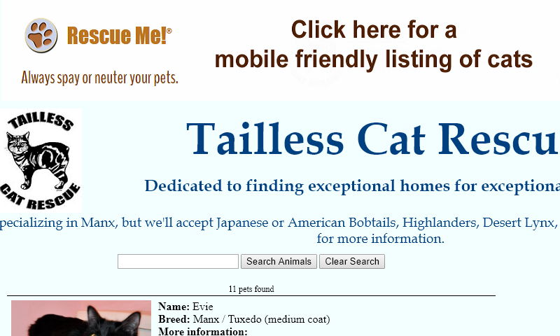 taillesscatrescue.com