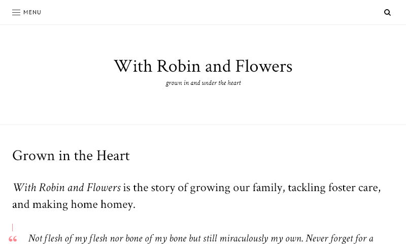 withrobinandflowers.com